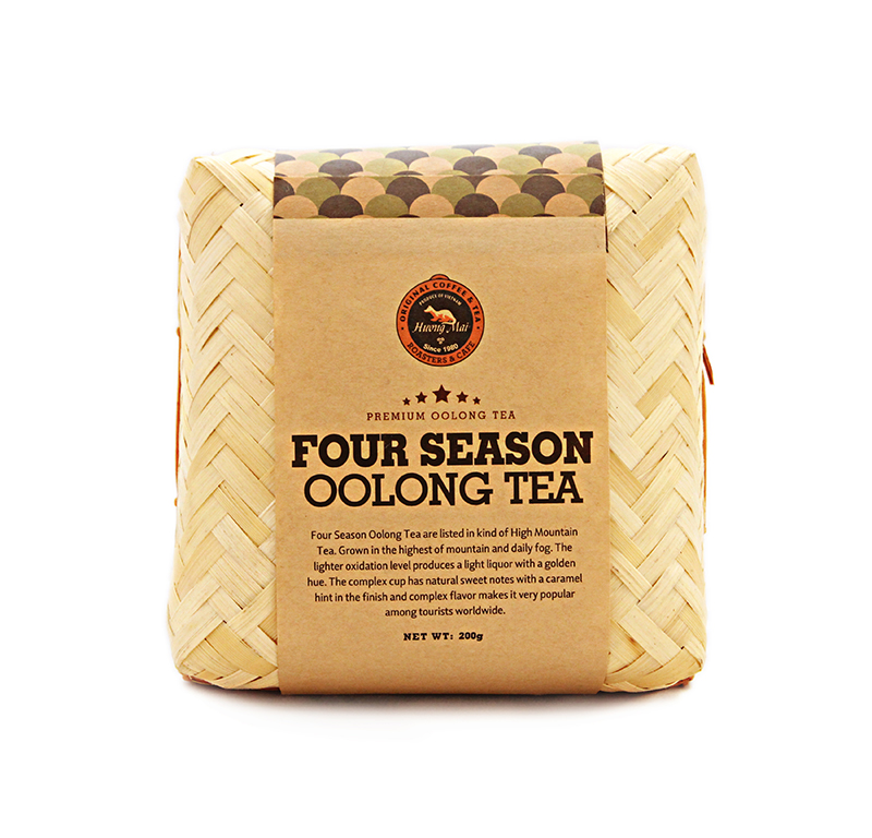 Four Season Oolong Tea Bamboo Box - 200g