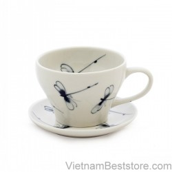 Capuchino Cup medium dragonfly