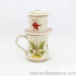 Mug Tall & Filter Set - Dragonfly