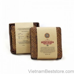Heritage Coffee Bamboo Box 125g  Powder