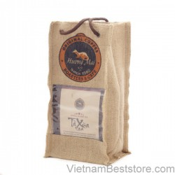 Ta Xua Tea Bamboo with Burlap Bag -125g