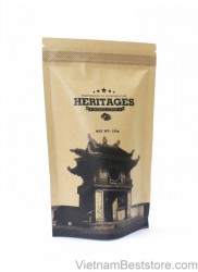 Heritage Coffee Kraft bag Powder 125g