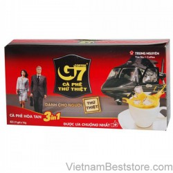 G7 instant coffee 3in1 – Boxes 21 sachets 16gr