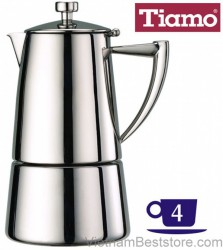 Espresso coffee Maker - Mocha  tiamo pot 4P