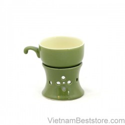 Cups with stove keep warming - Green nuggets