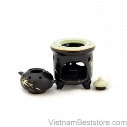 Cups with Musk stove - Bamboo Floral