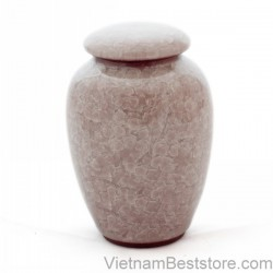 Tea Jar pattern  light purple veinstone