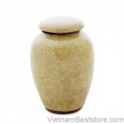 Tea Jar pattern  light yellow veinstone