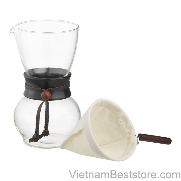 Chemex Coffee Maker - TIAMO DRIP POT-1P